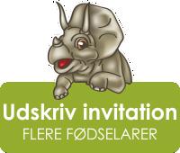 Dinos Legeland - invitation